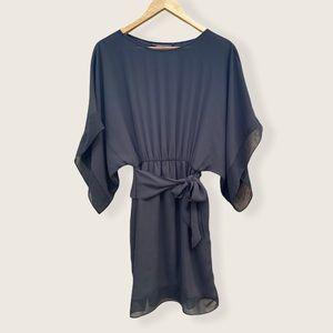 BCBG MaxAzria mini black dress